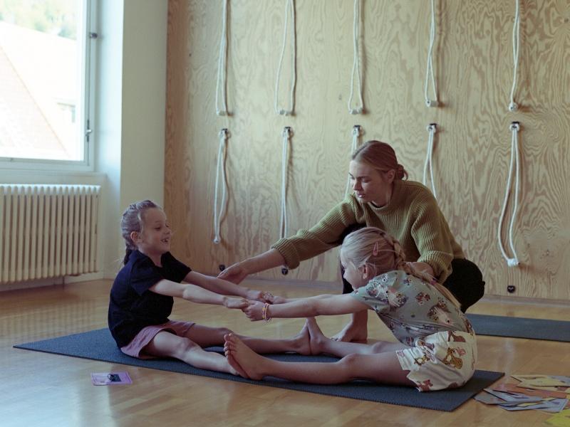 5-ukers kurs: Yoga for barn (5-7 år)