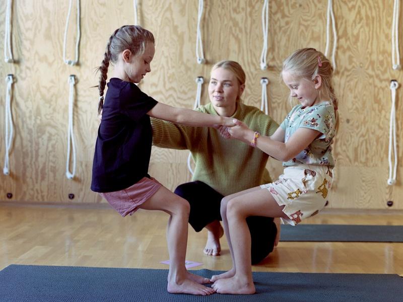 Yoga for barn (5-7 år)